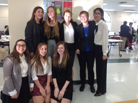 AHN Speech and Debate team excited to participate in the Florida Gulf Coast Catholic Forensic League. Credit: Jacqueline Brooker/Achona Online
