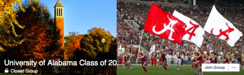 The University of Alabama Class of 2020 Facebook page. Credit: Facebook