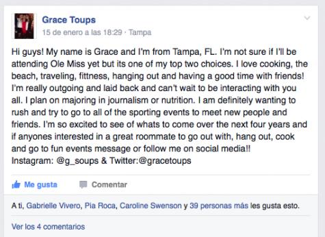 Grace Toups' post