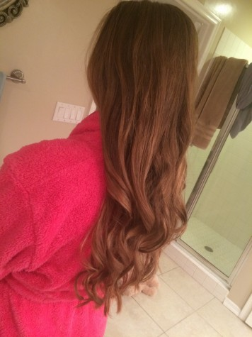 Credit: Avery Dierks You can wear curls like these whether you're going to a dance, or just to a girls night out.