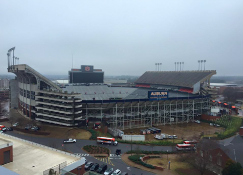Jordan - Hare Stadium at Auburn University holds around 87,451 people