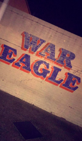 War Eagle is a battle cry, yell, or motto of Auburn University and supporters of Auburn University sports teams.