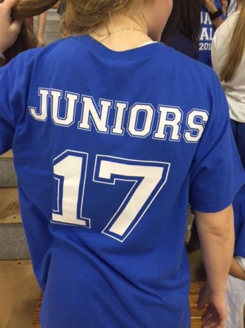 back of junior shirt