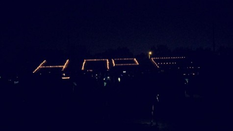 The luminarias send a positive message to attendees to never give up and continue the fight.