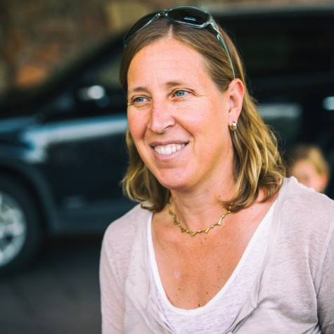 Wojcicki was Google's 16th employee and the company worked out of her garage for the first few months.