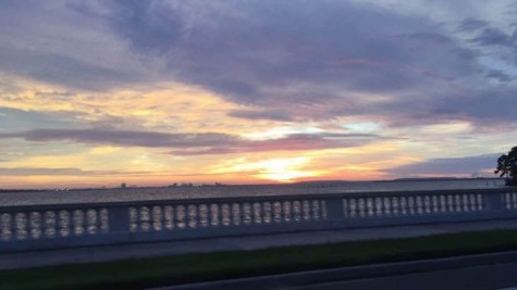 """AHN Senior Almarosa Torres commented, """"I like driving on bayshore with the windows open, the fresh air feels nice and the view is beautiful."""" Credit: Jacqueline Brooker/ Achona Online"""