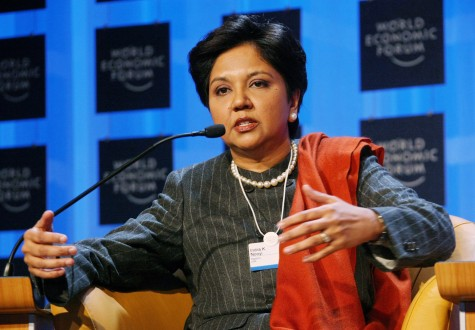 Nooyi worked in the graveyard shift as a dorm receptionist just so she could earn 50 extra cents as a teen.