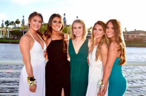 """Many girls go to different places before prom. Jaime Jurado has so much fun, """"We went to Curtis Hixon and then we went to Spain Restaurant. It was good to take photos and spend time with my good friends."""""""