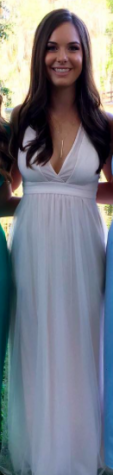 Kelsea Henry wore an adorable tulle material dress.