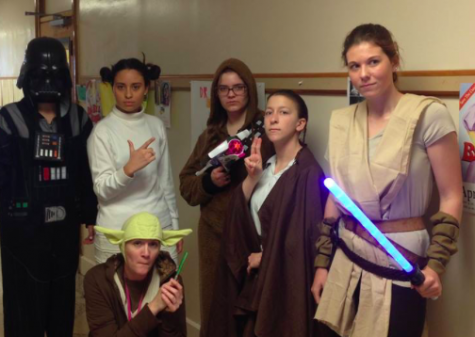 This year the team ended with a bang by reenacting Star Wars!