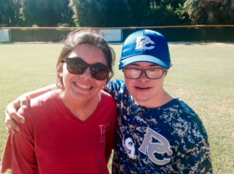 A large aspect of the TLC mission involves giving back to the community. This year, Alvarez and other club members participated in Challenger Baseball.