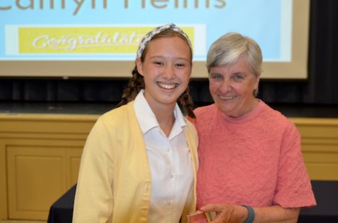 Credit: Kara Manelli Caitlyn Helms won Sophomore of the Year.