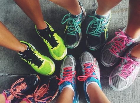 When running it is very important to wear shoes with lots of support. Brooks and Asics are known for creating a quality running shoe.