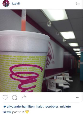 Liz Benjamin's favorite smoothie at Planet Smoothie is a lunar lemonade with strawberries.