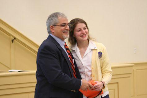 Credit: Rachel McKenna/Achona Online The Princeton Book Award was presented to Naomi Youakim by her dad, an alumni of Princeton.