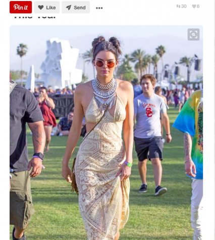 One of Kendall Jenner's Outfits for the 2016 Coachella Festival