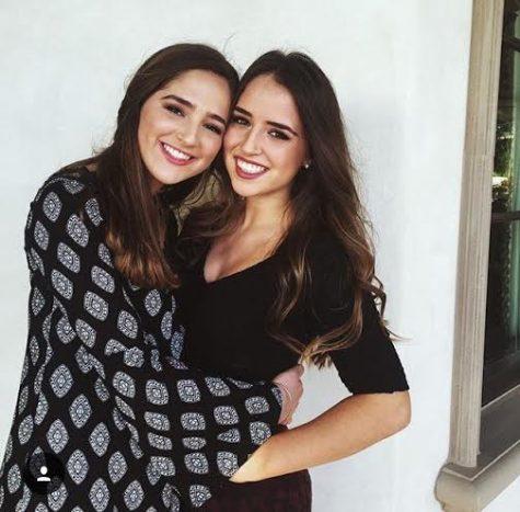 Senior Gabby Accardi and little sister Ava. Credit: Ava Accardi
