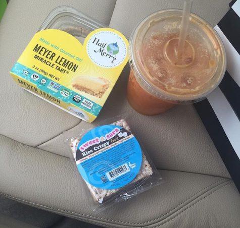 Benjamin, a Duckweed employee, finds most of her vegan snacks at Duckweed.