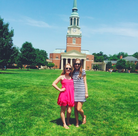 Senior, Katie Quackenbush took many college trips this summer, and is applying to almost all of the schools she visited.