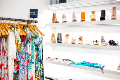 The store also has a sale rack, trendy bralettes, and shoes galore. Photo credit: Samantha Lee Photography (used with permission)