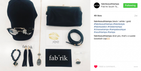 Drop by fab'rik and pick up stylish accessories to complete any outfit. (Photo credit: Andrea Tuggle (used with permission)