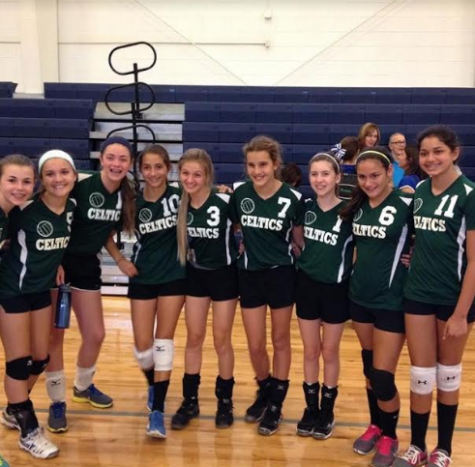 Fonseca, pictured here at a St.Lawrence middle school volleyball game.