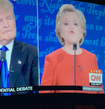 Snapchat filters were the real winners in the debate. People used the filters as another form of entertainment to get through the ninety minute debate.