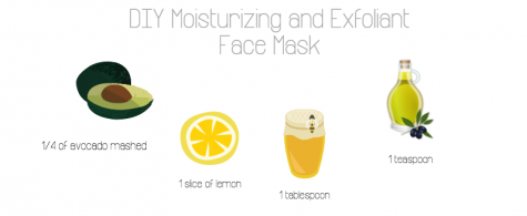 The face mask made with natural ingredients made everyone's face glow Photo credit: Maria Cacciatore/Achona Online