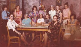 Sharrieff and cast of the Twelve Angry Women play in 1980.