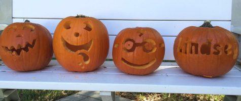 Kayla Eckermann '18 pumpkin carving creations! Photo Credit: Kayla Eckermann (used with permission)