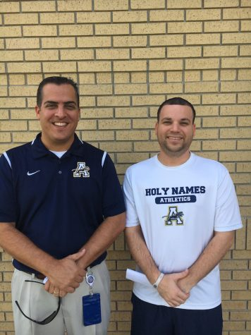 Photo Credit: Devin Folkman (Achona Online) This duo spend a lot of time together running the Athletic Department at Academy. On certain days, this duo might even be seen wearing matching outfits.