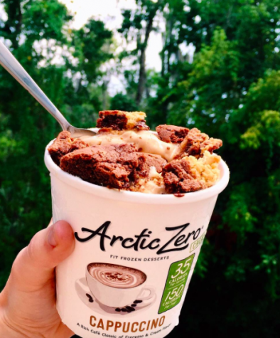 Thompson recommends Arctic Zero ice cream as an alternative to Halo Top due to its natural and lactose free ingredients. Credit: Christina Thompson
