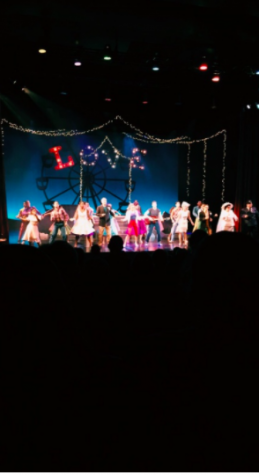a scene form the play, All Shook Up.
