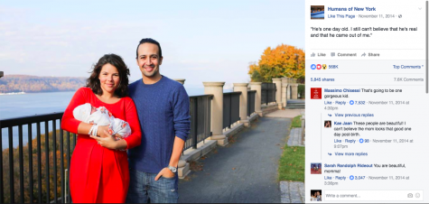 Miranda moved to New York about a year before Hamilton's opening night. Photo credit: Facebook.com/Humans of New York