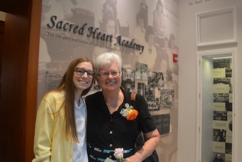 (Photo Credit: Haley Schuman / Used with Permission) Ally Whele and her Great Aunt Sister Dolores Whele