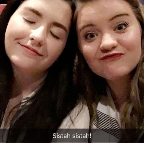 """Credit: Brielle Gentile (used with permission) Sophomore Brielle Gentile explains, """"I love [my sister] Ashlyn because she has always been so supportive of everything I do."""""""
