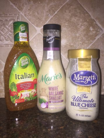 Avoid processed salad dressings by making your own healthy options. Photo Credit: Audrey Anello/AchonaOnline
