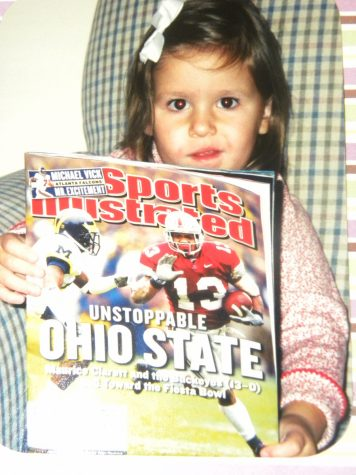Heston admits that, while they do not go to a lot of Ohio State games due to how far away they are, she and her family attend all of the games that take place in Florida. Photo credit: Emma Heston (used with permission)