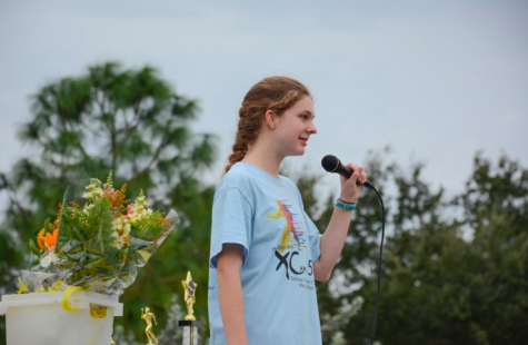 "According to Sophomore Myah Rhines, Dolan's positive influence on the community is contagious. She shares, "" The fact that she manages and created the Cross Out Cancer 5k, along with the fundraisers before the run makes me want to do something good for our society. Also, her time management is very impressing considering she is involved in so many things on top of the tasks for her 5k."""