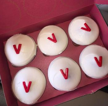 Sprinkles Cupcakes, located in Tampa's Hyde Park Village, carries vegan-friendly cupcakes. Credit: Morgan Salzsieder.