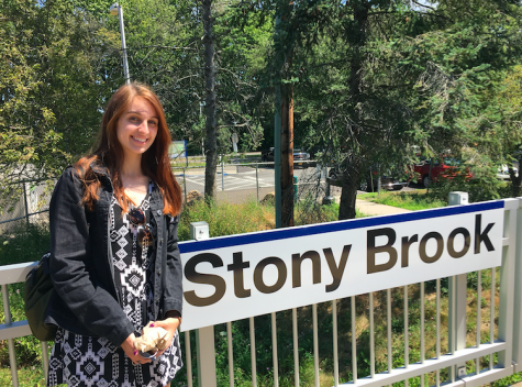 """Claire Leto visited Stony Brook because she has always hoped to attend college in New York. Leto explains, """"Going on a tour at Stony Brook helped me realize I would rather go to a smaller college, instead of a big state university."""" Photo Credit: Claire Leto (used with permission)"""