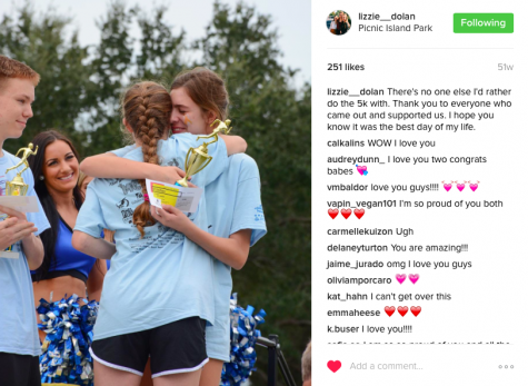 As seen on her Instagram, Lizzie was overwhelmed with gratitude from having such great friends help her put on this event.
