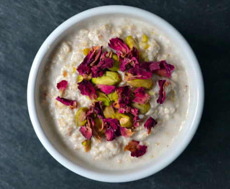 Add cream if you would like a thicker consistency oatmeal. Photo Credit: Pixabay