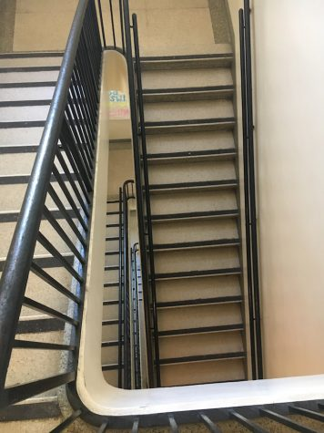 "Haley Schuman shares,""Stairs are a no for me."""