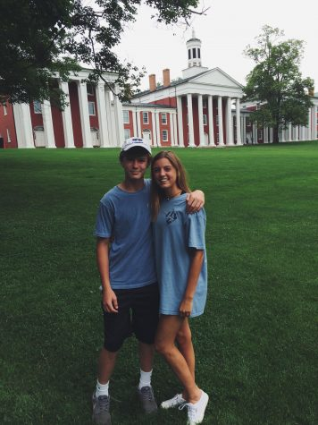 Junior Claire Obeck recently toured Washington and Lee University in Lexington, Virginia. Obeck was sure to ask about the study abroad options, considering her passion for travel. Photo Credit: Claire Obeck (used with permission)