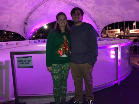 """Credit: Meredith Butler (used with permission) Senior Meredith Butler said """"One of my favorite things about the Christmas season is going ice skating in Curtis Hixon."""""""
