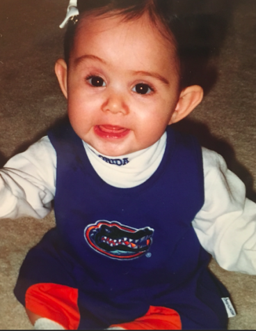 Alyssa has been a gator fan since she was a baby and has always wanted to attend UF. Photo Credits: Alyssa Muir (used with permission)