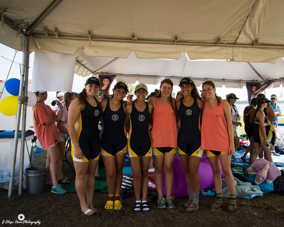 """Anello's piece of advice to the lowerclassmen is, """"Cherish every moment, even at 6am when you are at a regatta and hating life. Appreciate it because you will miss it so much."""""""