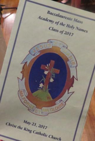 Class of 2017 Baccalaureate Mass