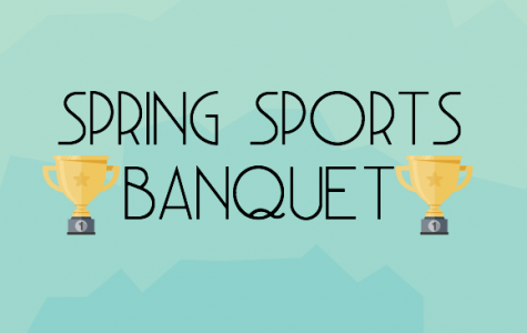 Spring Sports Attend Banquet